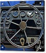 Boat Steering Wheel Acrylic Print