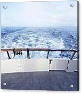 Boat Stern Acrylic Print