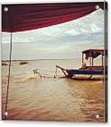 Boat Travels Acrylic Print
