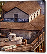 Boat - Tuckerton Seaport - Hotel Decrab  Acrylic Print by Mike Savad
