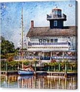 Boat - Tuckerton Seaport - Tuckerton Lighthouse Acrylic Print
