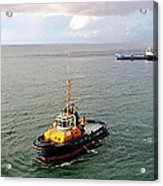 Boat - Tugboat Barbados II Acrylic Print