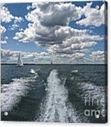 Boat Wake 01 Acrylic Print
