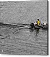 Boat Wake Acrylic Print
