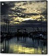 Boat Yard Acrylic Print