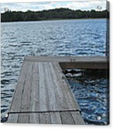 Boatdock-right Acrylic Print