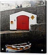 Boathouse Acrylic Print