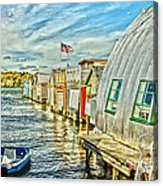 Boathouse Alley Acrylic Print