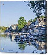 Boathouse Row In September Acrylic Print