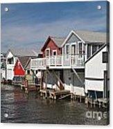 Boathouse Row Acrylic Print