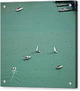 Boating Chicago Sports 11 Acrylic Print