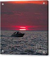 Boating Acrylic Print