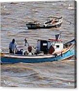 Boatman Acrylic Print