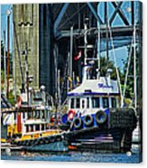 Boats And Tugs Hdrbt3221-13 Acrylic Print