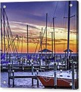 Boats In Awe Acrylic Print
