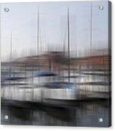 Boats In The Marina Acrylic Print