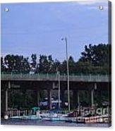Boats Of Huron Ohio Acrylic Print