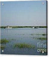 Boats On A Calm Bay.02 Acrylic Print