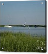 Boats On A Calm Bay.04 Acrylic Print