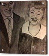 Bob And Lucy Acrylic Print