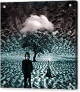 Bob Dylan A Hard Rain's A-gonna Fall Acrylic Print