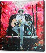 Bob Dylan - Crossroads Acrylic Print