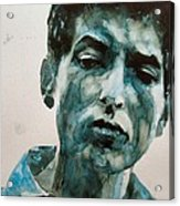 Bob Dylan Acrylic Print by Paul Lovering