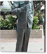 Bob Hope Memorial Statue Acrylic Print