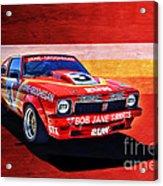 Bob Jane Torana A9x Acrylic Print