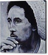 Bob Marley Acrylic Print by Stefon Marc Brown