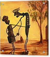Bob 'n' Betty - Broken Hill Acrylic Print