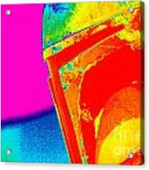 Boba Fett 22 Acrylic Print by Micah May