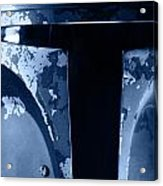 Boba Fett Helmet 104 Acrylic Print by Micah May