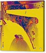 Boba Fett Helmet 6 Acrylic Print