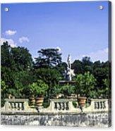 Boboli Gardens Acrylic Print