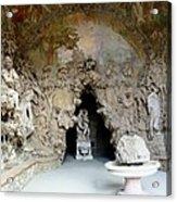 Boboli La Grotta Grande 3 Acrylic Print by Ellen Henneke