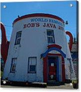 Bob's Java Jive Acrylic Print