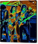 Boc #3 Enhanced In Cosmicolors Crop 2 Acrylic Print