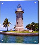 Boca Chita Lighthouse Acrylic Print