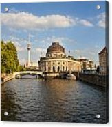 Bode Museum In Berlin Germany Acrylic Print