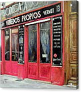 Bodega Ardosa Acrylic Print