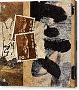 Bodhisattva 1952 Acrylic Print by Carol Leigh