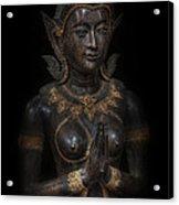 Bodhisattva Princess Acrylic Print by Daniel Hagerman