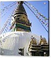 Bodhnath Stupa Acrylic Print