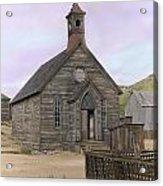 Bodie Church Acrylic Print