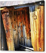 Bodie Decaying Privy Acrylic Print