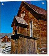 Bodie Ghost Town Church Acrylic Print