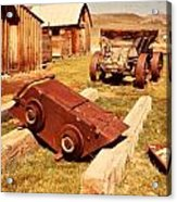 Bodie Ghost Town Ore Car Acrylic Print