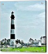 Bodie Island Lighthouse - Outer Banks North Carolina Acrylic Print
