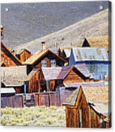 Bodie Rooftops Acrylic Print